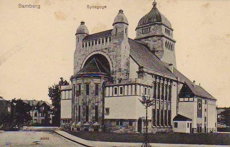 Bamberg Synagoge 1910